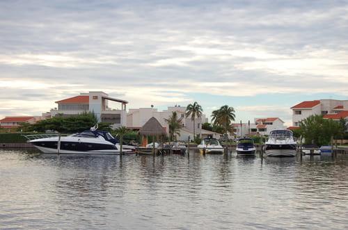 Cancun bateaux