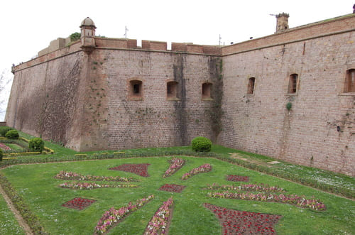 remparts du chateau du mont juic