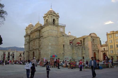 Oaxaca Mexique cathédrale