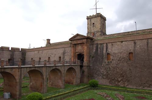 Le chateau du Mont Juic