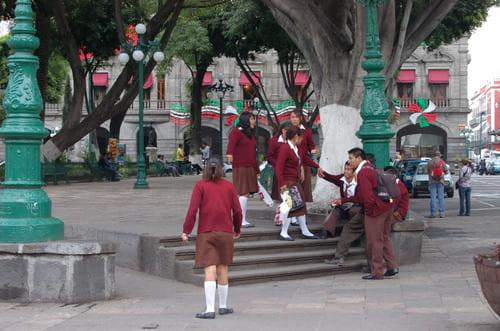 Ecoliers Puebla