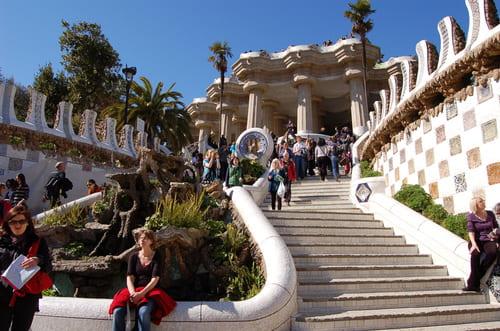 Escalier parc Guell