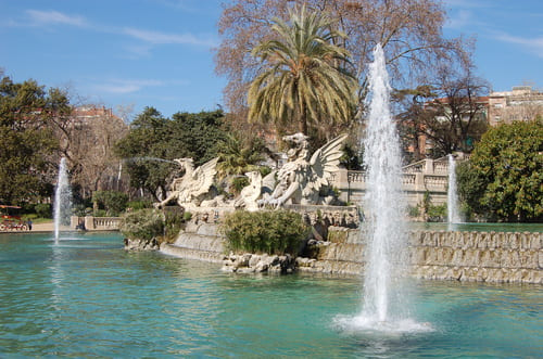 Parc de la Ciutadella fontaines