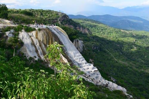 Hierve el Agua  cascade