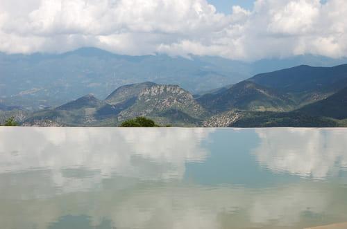 Hierve el Agua au Mexique