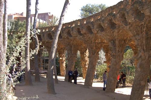 Jardin du parc Guell