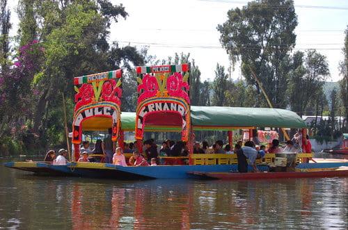 Xochimilco bateau