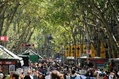Rambla Barcelone