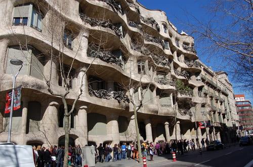 Casa Mila de Gaudi