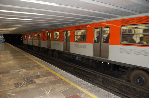 métro à Mexico