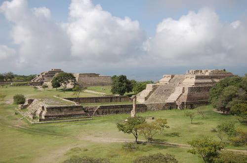 Monte Alban site maya