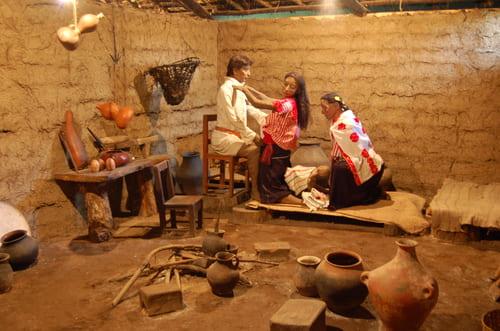 Musée maya mexique