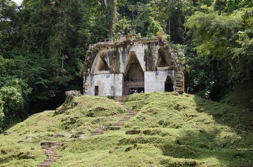 visite du site Palenque