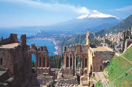 Etna depuis Taormina