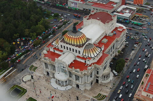 Palacio bella artes mexico
