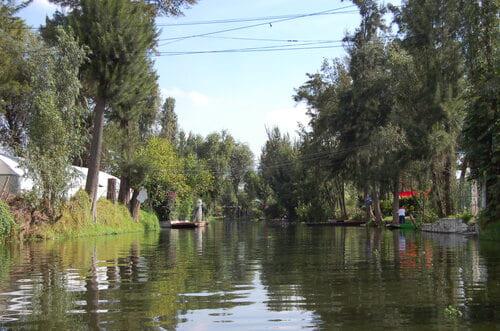 balade en bateau à Xochimilco