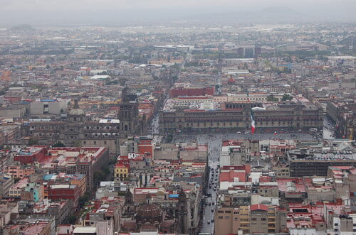 Zocalo torre latina