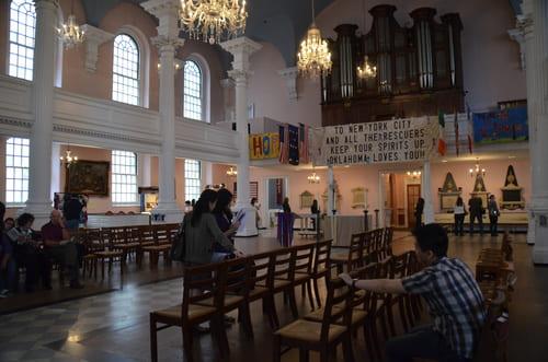 Eglise souvenir attentat 11 septembre