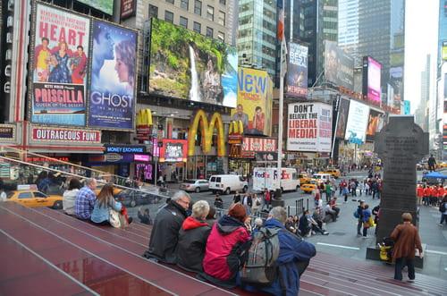 Times Square de jour