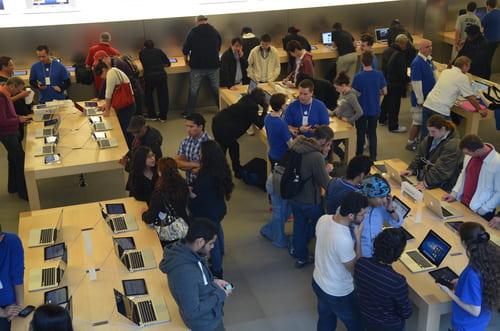 Apple store vendeurs