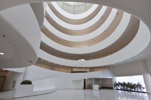 intérieur Guggenheim New York