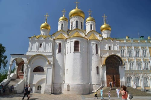 Cathédrale dans le Kremlin