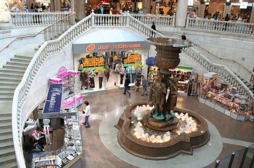 Centre commercial à Moscou