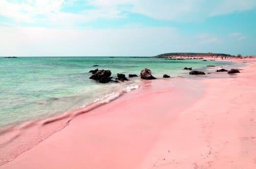 belle plage Crète