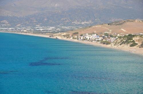Plage Crète oasis Beach