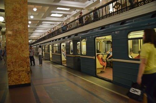 Métro  Moscou