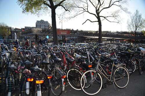 Parking vélo Amsterdam
