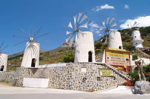 Lassithi visite Crète