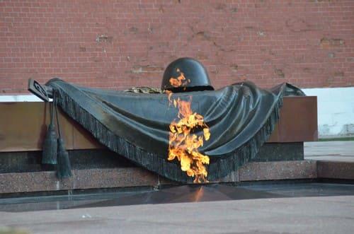 Le tombe du soldat inconnu de Moscou