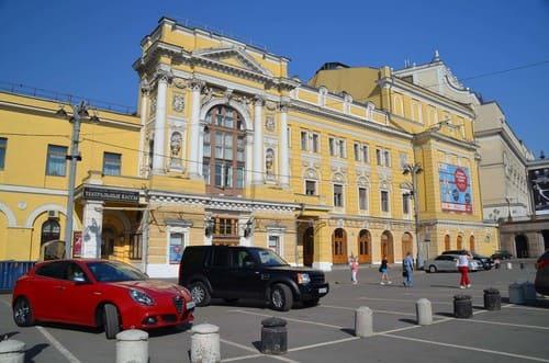 Théâtre à Moscou