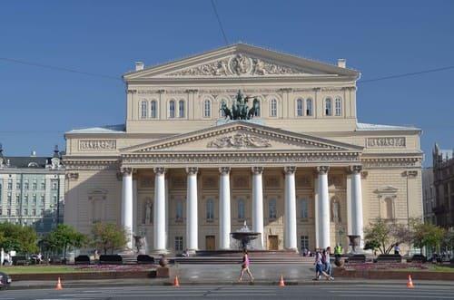 Bolchoi facade Moscou