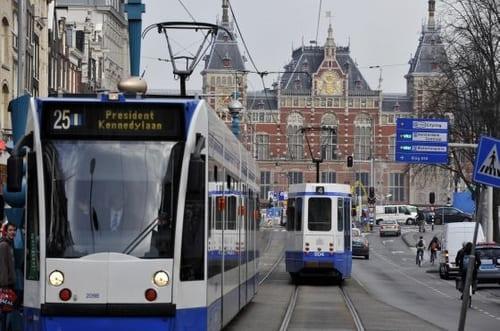 Tramway transports