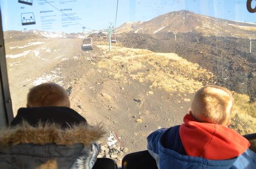 accès sommet Etna