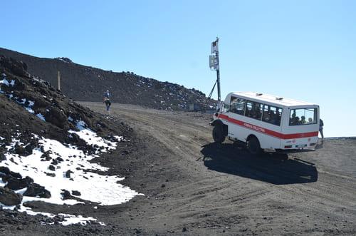 Minis bus pour Etna