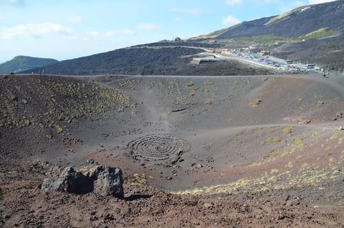 Cratère volcan
