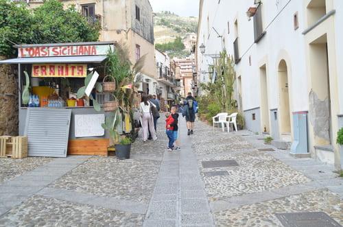 ruelles de Monreale en Sicile