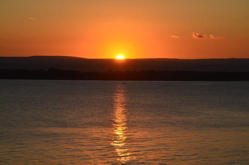 Coucher de soleil Ortigia