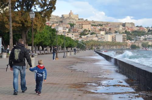 Milazzo Sicile mer