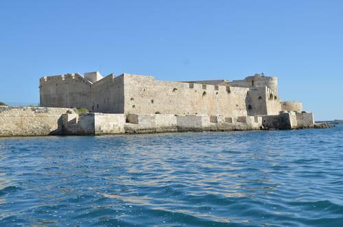 Balade en bateau Sicile