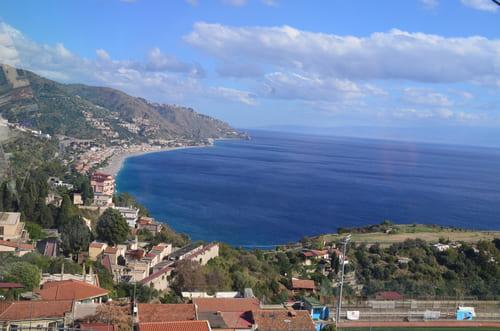 Taormina vue d'en haut