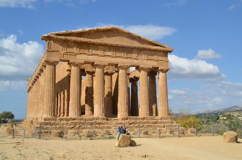 Temple de la concorde Agrigente