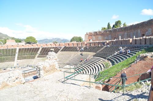site de Taormina théatre