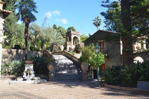 parc Villa Communal Taormina