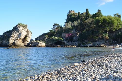 Isola Bella pour se baigner