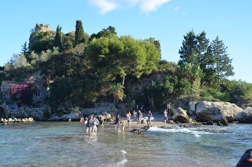 Accès Isola Bella