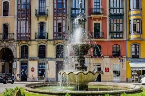 Fontaines à Aviles Espagne